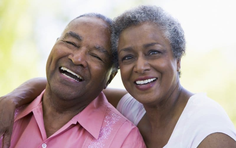 Happy Elderly Ethnic Couple